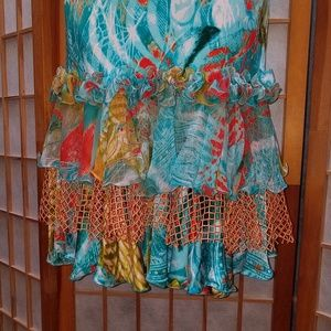 Diane Fres Dresses - One-of-kind stunning Tropical dress  Sz 8